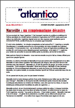 Marseille : un symptomatique désastre