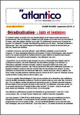 «Déradicalisation» : faits et foutaises