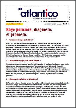 Rage policière, diagnostic et pronostic