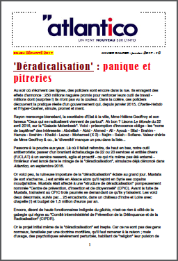 'Déradicalisation' : panique et pitreries