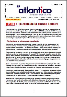 JUSTICE : La chute de la maison Taubira