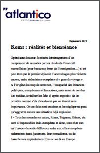 Roms : réalités et bienséance