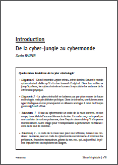 De la cyber-jungle au cybermonde – 2