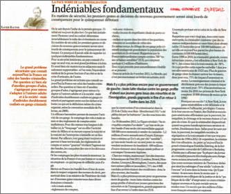 Indéniables fondamentaux