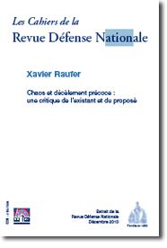 Les Cahiers de la Revue Défense Nationale – Chaos et décèlement précoce :