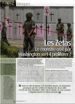 Les Zetas. Le monstre créé par Washington va-t-il proliférer ?
