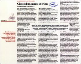 Classe dominante et crime