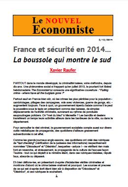 France et sécurité en 2014… La boussole qui montre le sud