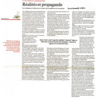 Réalités et propagande