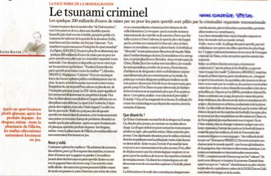 Le Tsunami criminel