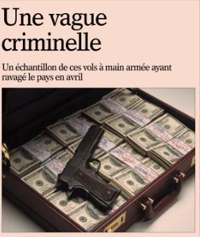 Une vague criminelle