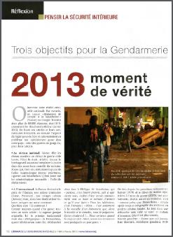 2013 moment de vérité