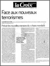 Face aux nouveaux terrorismes