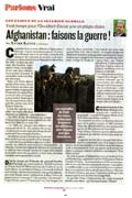 Afganistan : faisons la guerre !