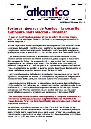 Tortures, guerres de bandes : la sécurité s'effondre sous Macron – Castaner