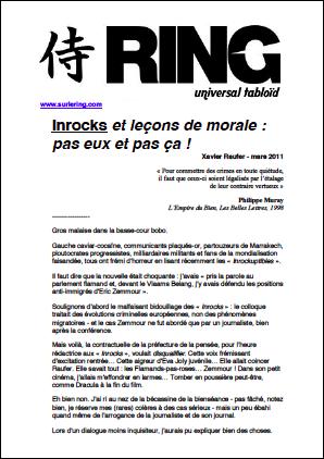 Inrocks et leçons de morale : pas eux et pas ça !