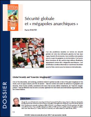 Sécurité globale et «mégapoles anarchiques»