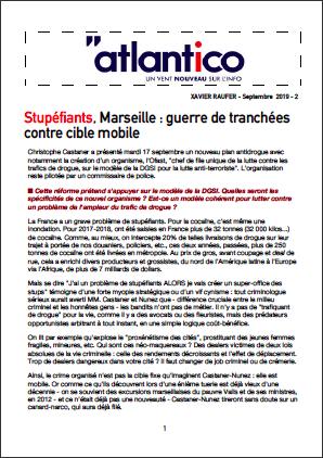 Stupéfiants, Marseille : guerre de tranchées contre cible mobile