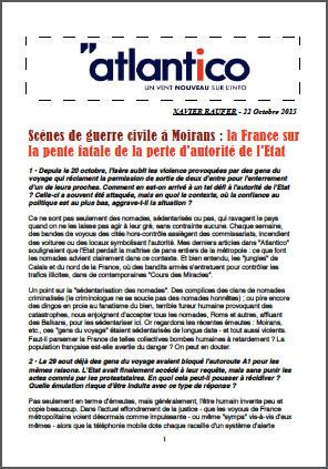 Scènes de guerre civile à Moirans : la France sur la pente fatale de la perte d'autorité de l'Etat