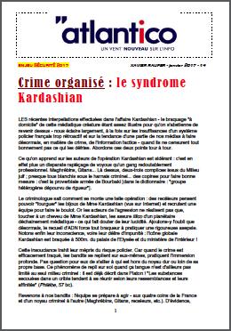 Crime organisé : le syndrome Kardashian