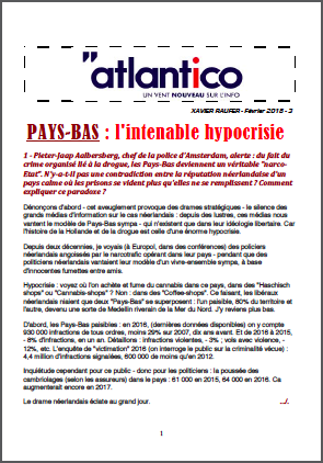 PAYS-BAS : l'intenable hypocrisie