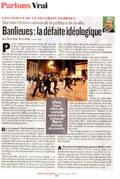 Banlieues : la défaite idéologique
