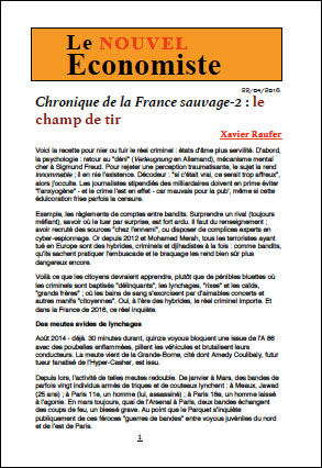 Chronique de la France sauvage-2 : le champ de tir
