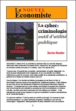 La cyber-criminologie, outil d'utilité publique