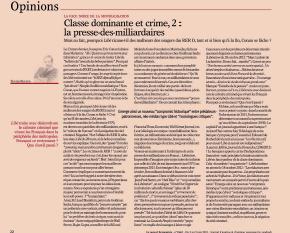 Classe dominante et crime, 2 : la presse-des-milliardaires