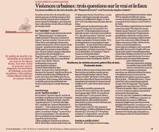 Violences urbaines : trois questions sur le vrai et le faux