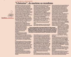 «Libération», du maoïsme au moralisme