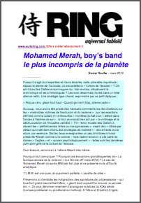 Mohamed Merah, boy's band le plus incompris de la planète
