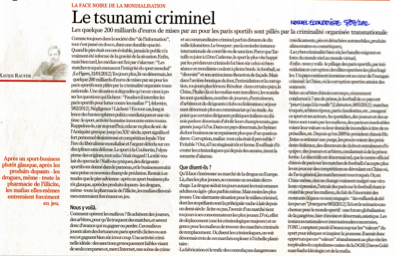Le Tsunami criminel