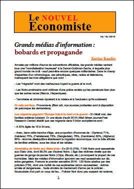 Grands médias d'information : bobards et propagande