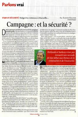 Campagne : et la sécurité ?