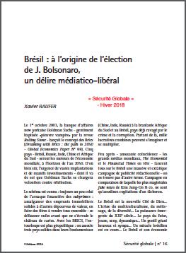 Brésil : à l'origine de l'élection de J. Bolsonaro, un délire médiatico-libéral