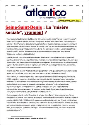 Seine-Saint-Denis : La «misère sociale», vraiment ?