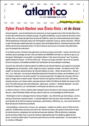 Cyber Pearl-Harbor aux États-Unis : et de deux