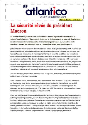 La sécurité rêvée du président Macron