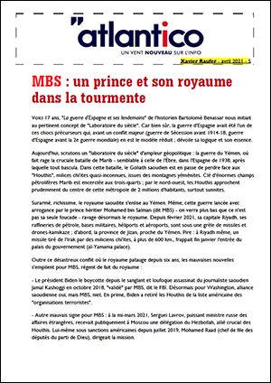 MBS : un prince et son royaume dans la tourmente