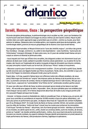 Israël, Hamas, Gaza : la perspective géopolitique