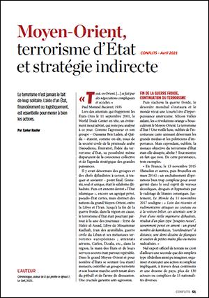 Moyen-Orient, terrorisme d'État et stratégie indirecte