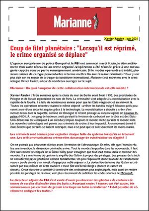 Coup de filet planétaire : «Lorsqu'il est réprimé, le crime organisé se déplace»